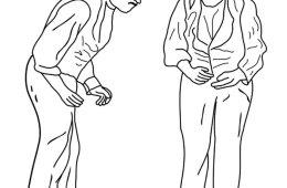 This image is Sir William Richard Gowers Parkinson Disease sketchs.