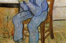 Van Gogh's Old Man in Sorrow.