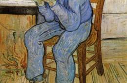 Van Gogh's Old Man in Sorrow.