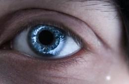 Image shows a woman's eye.