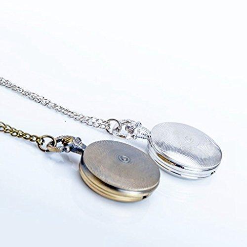 Vintage brain pocket watch necklace antique doctor and nurse 799 aloadofball Choice Image