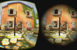 Image shows the virtual environment house before and after modification.