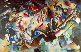 Kandinsky's Composition 6.