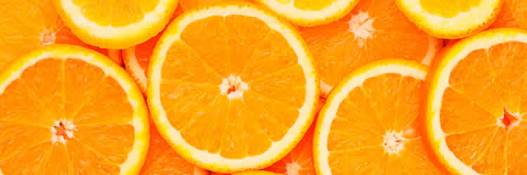 Image shows oranges.