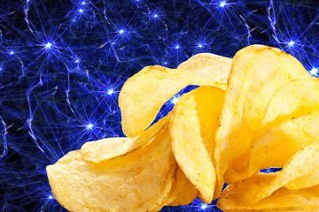 Image shows a neurons and chips.