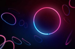 Image shows pink and blue circles.