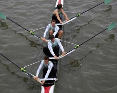 people rowing