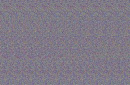 """Image shows a """"Magic Eye"""" image generated from Text."""