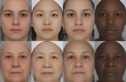 women's faces