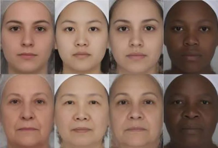 women's faces