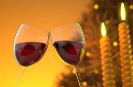 Image shows a wine glass.