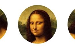 mona lisa at different angles