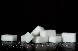 This is a photo of sugar cubes