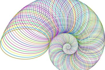 This shows a psychedelic spiral