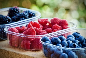 This shows berries