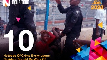 10 hotbeds of crime in Lagos