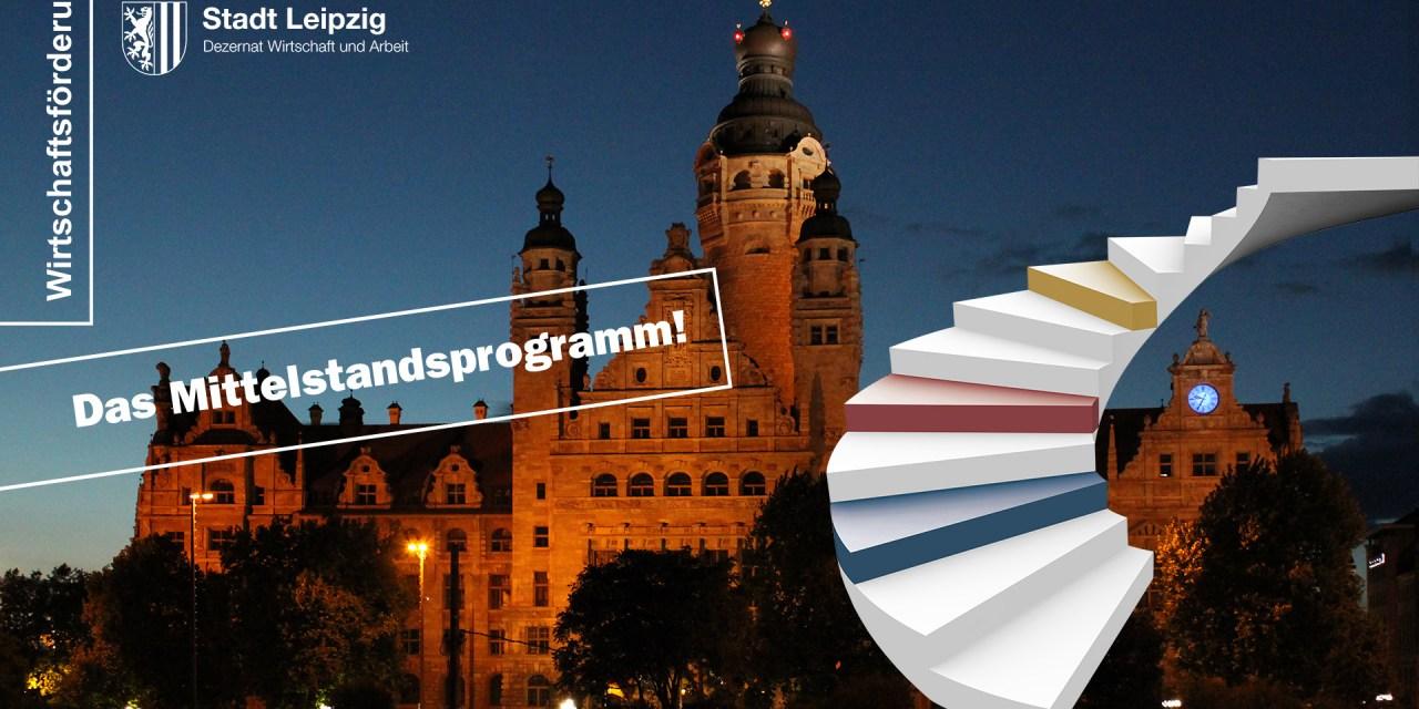 Neu im Mittelstandsprogramm der Stadt Leipzig: Corona-Krise kreativ meistern