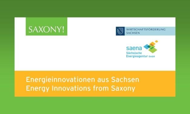 """Neuer Kompetenzatlas """"Energieinnovationen aus Sachsen"""" veröffentlicht"""