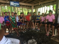 Meeting with one of the many fisherfolk's associations