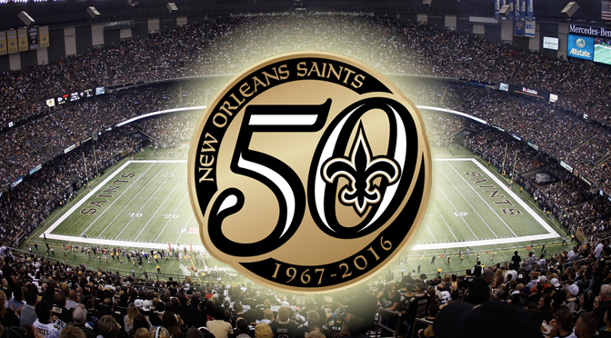 The New Orleans Saints today announced the franchise has committed to win five games this season, one for each decade they've been in the league, in honor of their 50th anniversary.