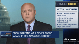 Mayor Landrieu appears on national television to discuss his uniquely own groundbreaking idea after visiting that Venice, Italy.