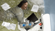 New Orleans mayoral candidate LaToya Cantrell clogs toilet while attempting to flush credit card evidence