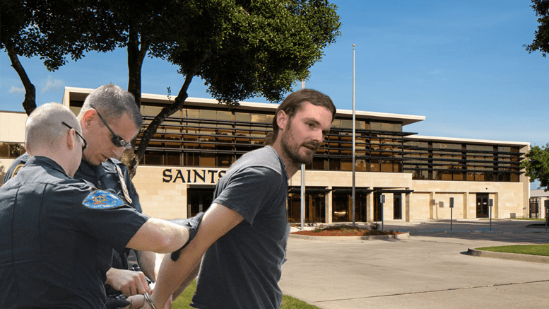 New Orleans Saints fanatic arrested for trespassing on training facility