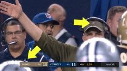 New evidence shows mystery man on Saints sideline involved in much deeper conspiracy
