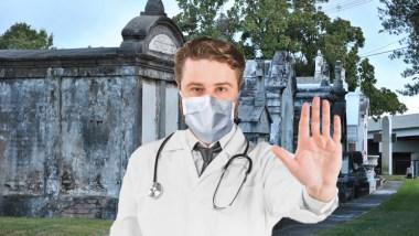 Metairie cemetery closes, quarantines residents due to COVID-19 coronavirus
