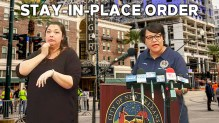 Mayor Cantrell orders every bodyin New Orleans to stay-in-place through May 16, give or take a year