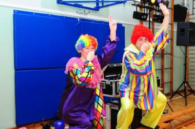 Clowni - imprezy dla dzieci z NEUTRINOband