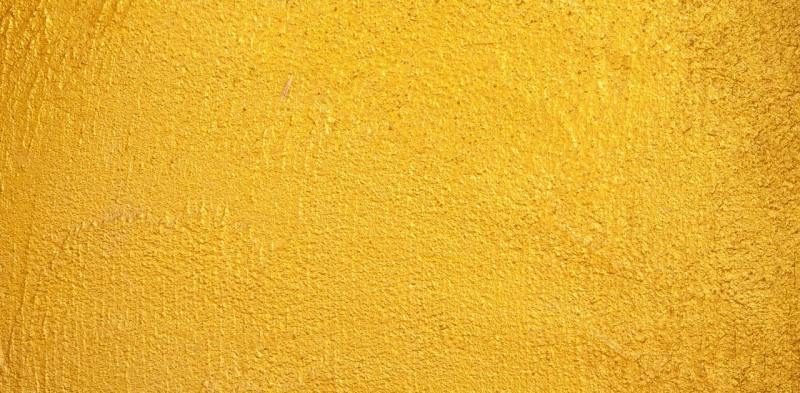 Canary yellow paint color on wall - Neutrino Burst