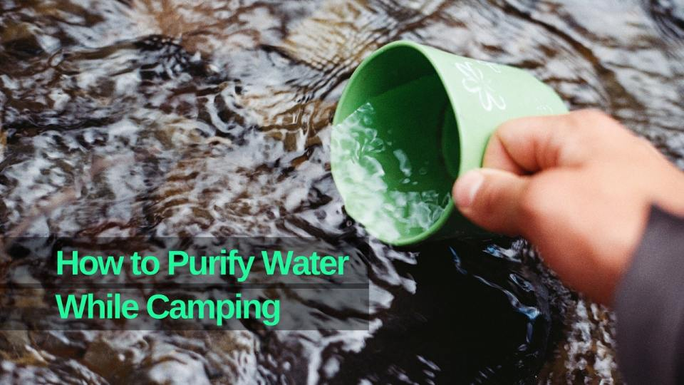 How to purify water while camping - Neutrino Burst!