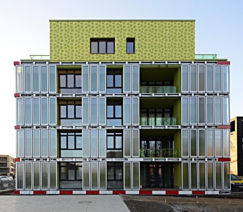 First algae-based building in Germany 2013