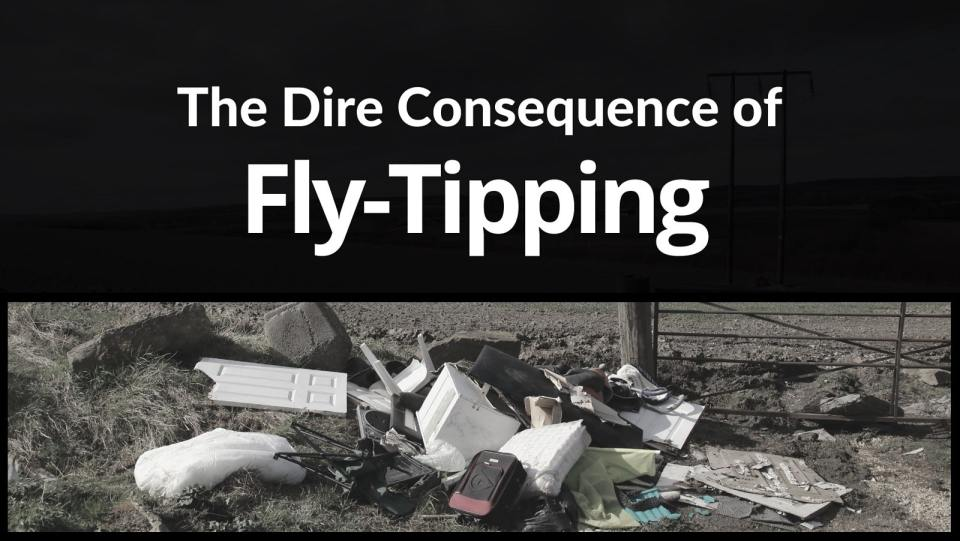 The dire consequence of fly-tipping - NB!