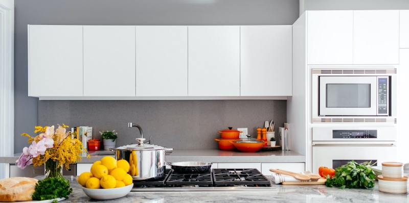 Feng Shui kitchen with fruits