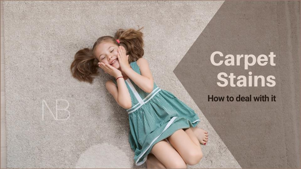 How to prevent and remove carpet stains - Neutrino Burst!