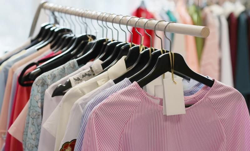 Be mindful about buying clothes