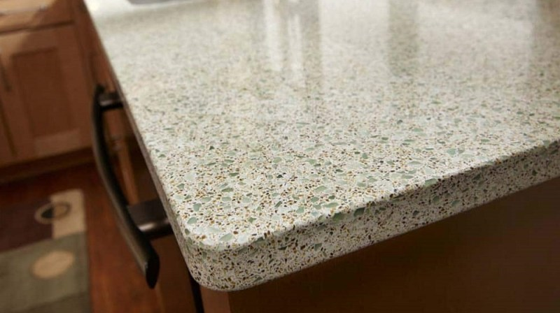 Eco-friendly icestone kitchen countertop