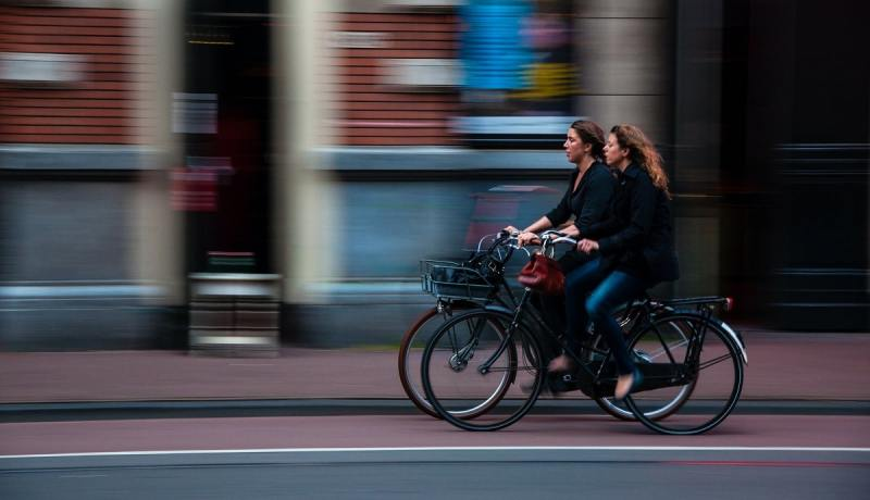 Choose eco-friendly commute options