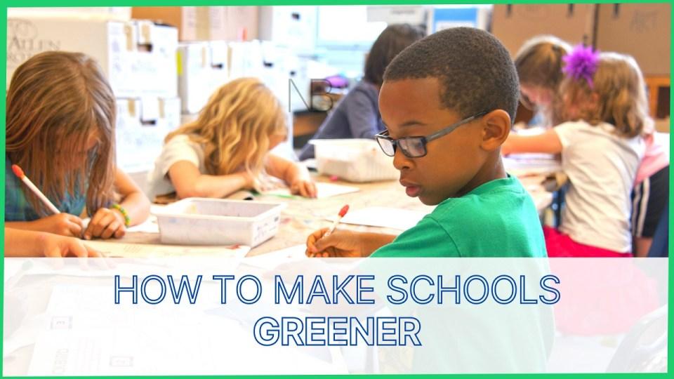 How to make schools greener - Neutrino Burst!