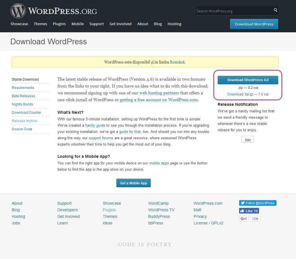 download wordpress neutron dev