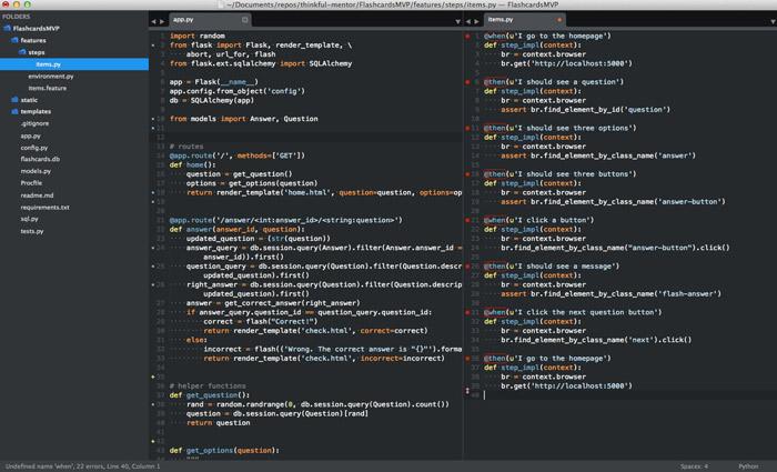 sublime text editor neutron dev