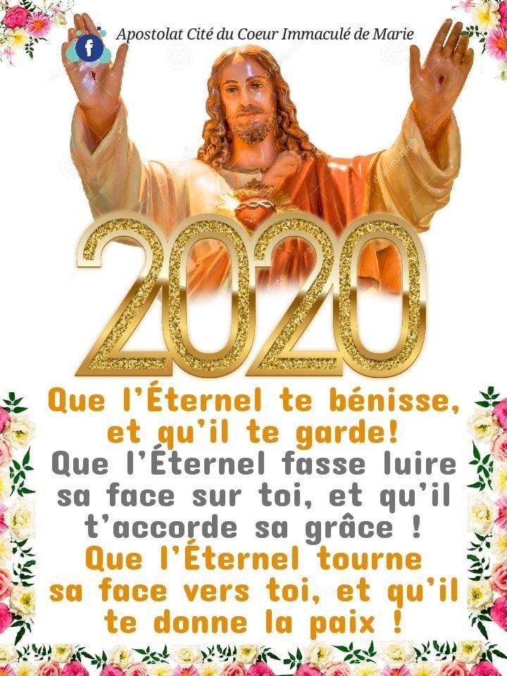 """Résultat de recherche d'images pour """"bonne année 2020 amour en Dieu"""""""