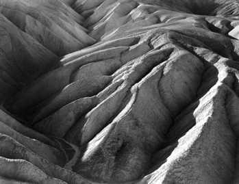 Point Lobos. Zabriskie Point. Edward Weston. 1938
