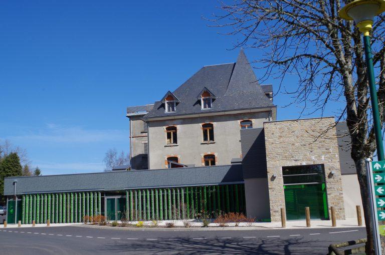 Lycee Henri Queuille de Neuvic restaurant scolaire