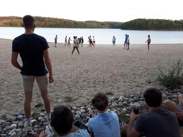lycee henri queuille_sortie pique-nique au lac