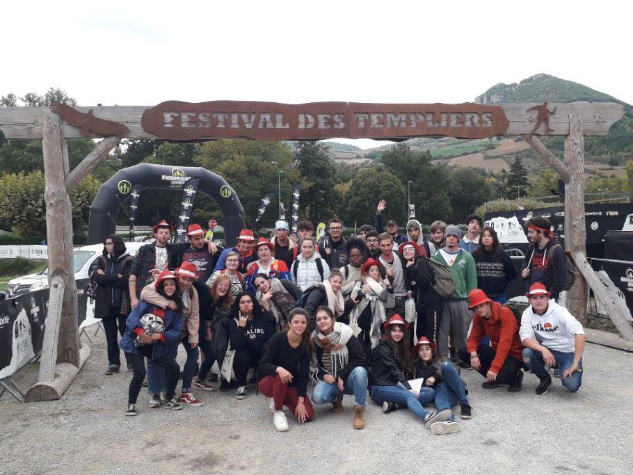 BTS DATR neuvic festival des templiers