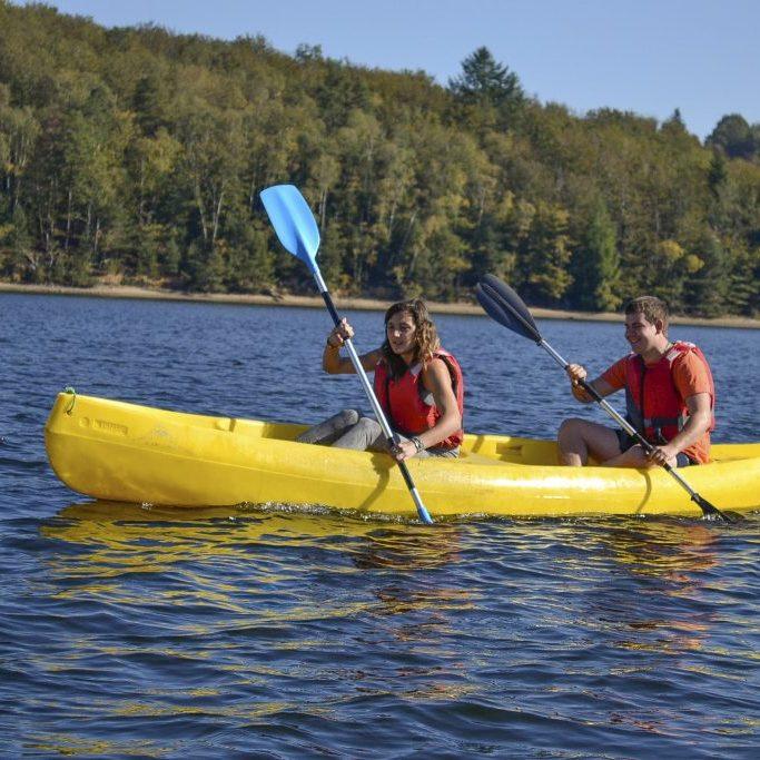 canoe lac de neuvic