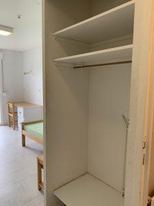 résidence étudiante lycee henri queuille neuvic rangement chambre simple